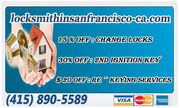 Local Locksmith in San Francisco